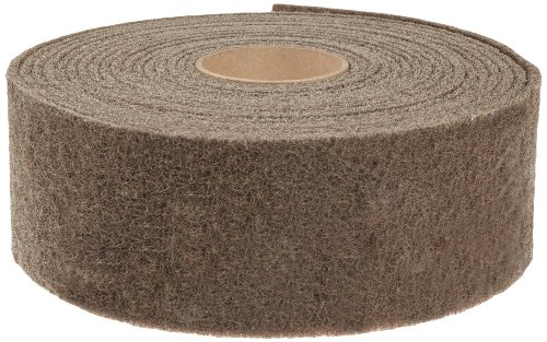 Scotch-Brite  Cut and Polish Roll, 30' Length x 2'' Width, Medium  (Pack of 6) by Scotch-Brite