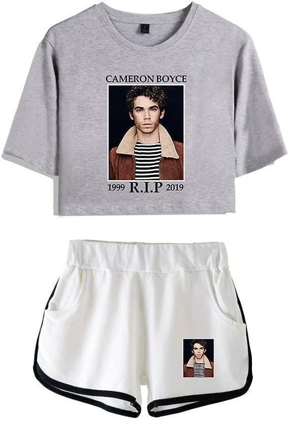 JIKF-shirt Cameron Boyce - Conjunto de Camiseta y Pantalones ...