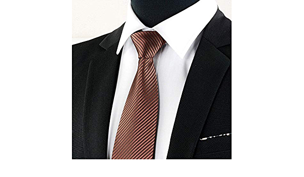 FAHFO Corbatas 8 Cm. Ropa Formal Masculina Corbata Negra ...