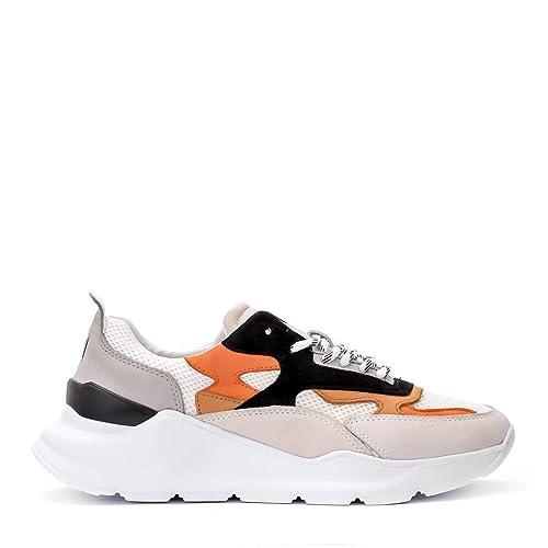 d80d180add6f Date Sneaker Uomo Fuga Nabuk Camel - Orange  Amazon.it  Scarpe e borse