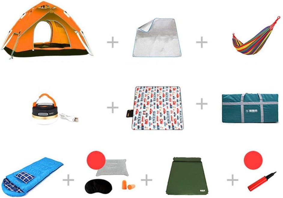 1-1 Tiendade Camping Combinado, Cojines inflables + Saco de Dormir ...