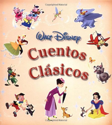 Cuentos clasicos: Disney's Classic Storybook, Spanish-Language Edition (Tesoros de Disney) (Spanish Edition) by Example Product Brand