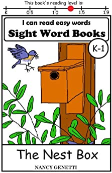 The Nest Box: I CAN READ EASY WORDS SIGHT WORD BOOKS