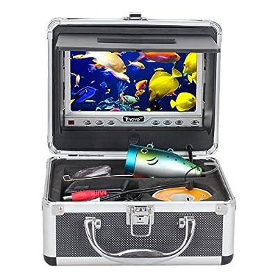 Uphig Eyoyo Anti-Sunshine 30m 1000TVL HD CAM Professional Fish Finder Underwater Fishing Video Camera 7 Inch Color HD Monitor by Eyoyo