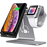 Bestand 2 in 1 Apple Watch Stand Holder & Qi Wireless Charger Charging
