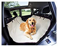 Universal Car Pet Baby Seat Cover - Neutral Tan Beige Protector for Any Auto, Truck, Jeep. Great for Carrying Your Baby, Child & Pet. Use as an Outdoor Blanket, Child Play Mat or Drop Cloth Too