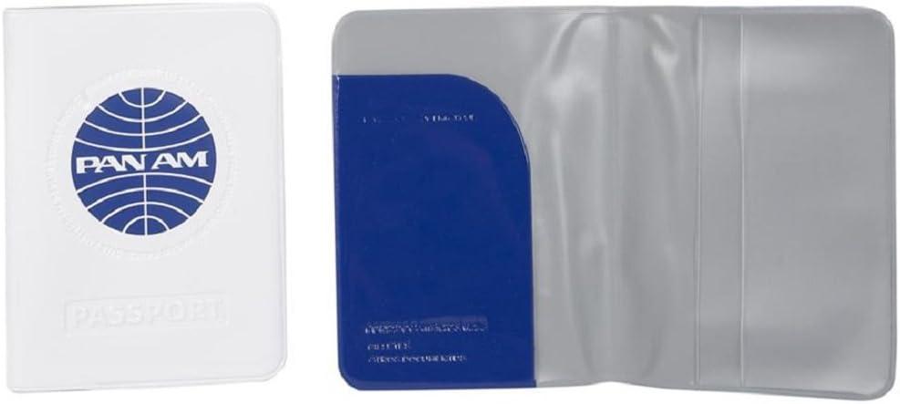 Funda pasaporte retro PAN AM Azul
