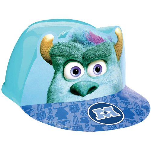 Amscan Oozma Kappa Mazing Monsters University Deluxe Fabric Party Hat, 6 x 6-1/4