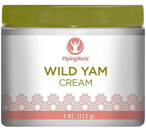 Piping Rock Wild Yam Cream 4 oz (113 g) Jar