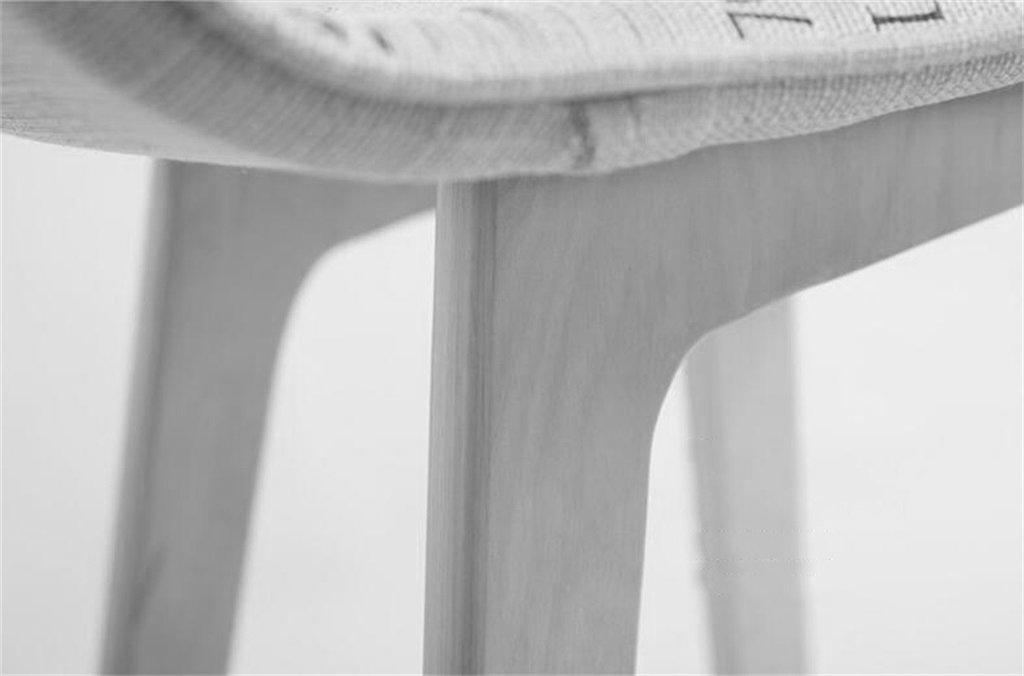 LHL-Klappstühle WEI MING Shop- Hölzern Stuhl Hoch Schemel Frühstück Frühstück Frühstück Schemel Barhocker Barstuhl zum Küche Zuhause & Kommerziell Beige Braun Leinenmaterial Barhocker (größe   Sit Height 74cm) B076SVT5YG | Heißer Verkauf  7c7633