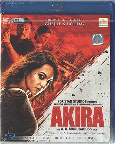Search : Akira (Sonakshi Sinha, Brand New Single Disc Blu-Ray, Hindi language, With English Subtitles, Released By Ultra Dvd)