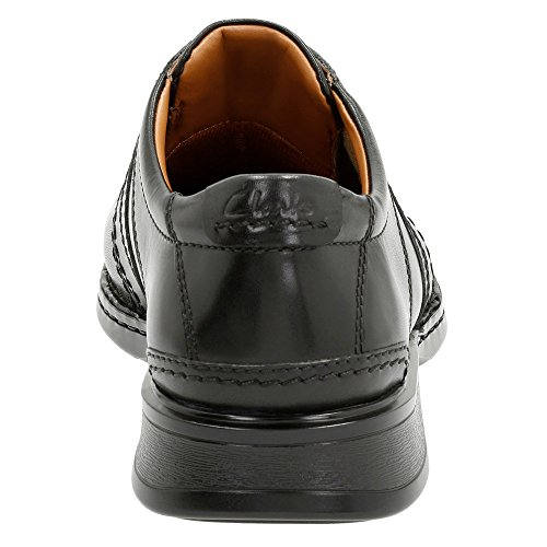 CLARKS Men's Touareg Vibe Oxford Black Leather 2014 unisex for sale cheap best seller sale great deals 2014 unisex cheap price JXO3O1T3qp