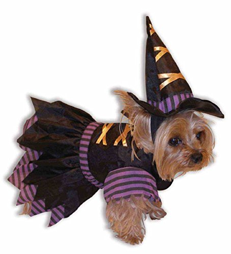 Forum Novelties Witch Doggie Costume - XS/Small