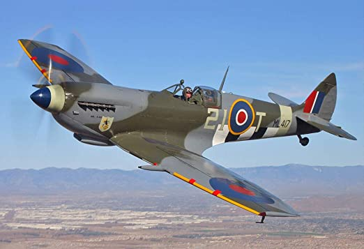 SUPERMARINE SPITFIRE AEROPLANE WAR GIANT WALL  POSTER ART PICTURE PRINT LARGE