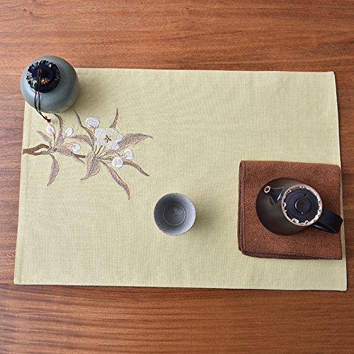 QWERWHH Kaffee Matten, um zu verhindern, DASS heiße und Wärmedämmung Mat Mat Geschirr Mat 34 * 49 cm