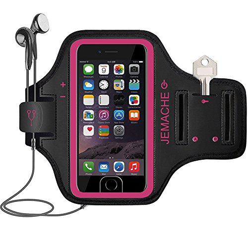 Cheap Armbands iPhone 6S/7/8 Armband, JEMACHE Fingerprint Touch Supported Sports Jogging Running Exercise Workout..