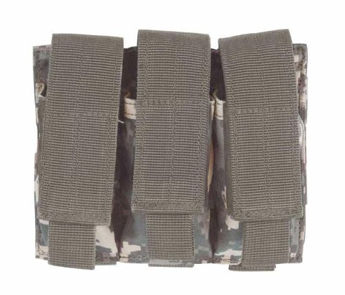 UPC 783377012493, Voodoo Tactical MOLLE Triple Pistol Mag Pouch - ACU