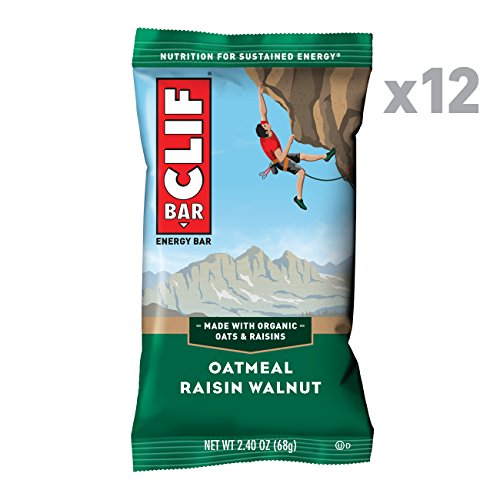 CLIF BAR - Energy Bar - Oatmeal Raisin Walnut - (2.4 Ounce Protein Bar, 12 Count) ()