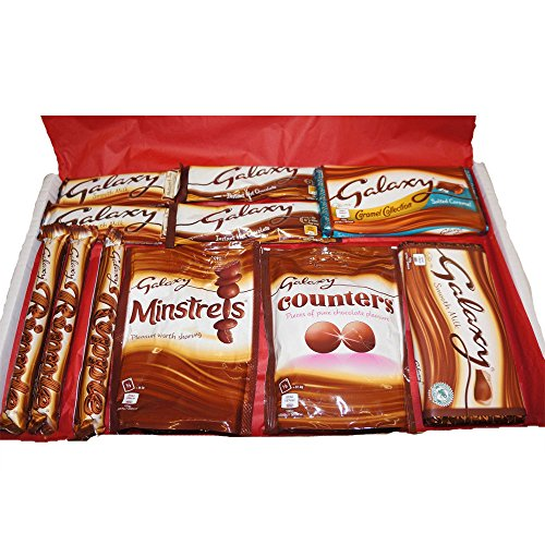 Large Galaxy Chocolate Variety Ripple, Caramel, Counters, Minstrels & more - Gift ()