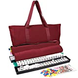 American Mahjong Set - Everything Needed to Play - Includes 166 Tiles, Pushers, Accessories, Case, Bag