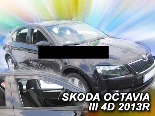Heko Z980493 Windabweiser Regenabweiser Für Octavia 3 2013 5türer Für Vorne Auto