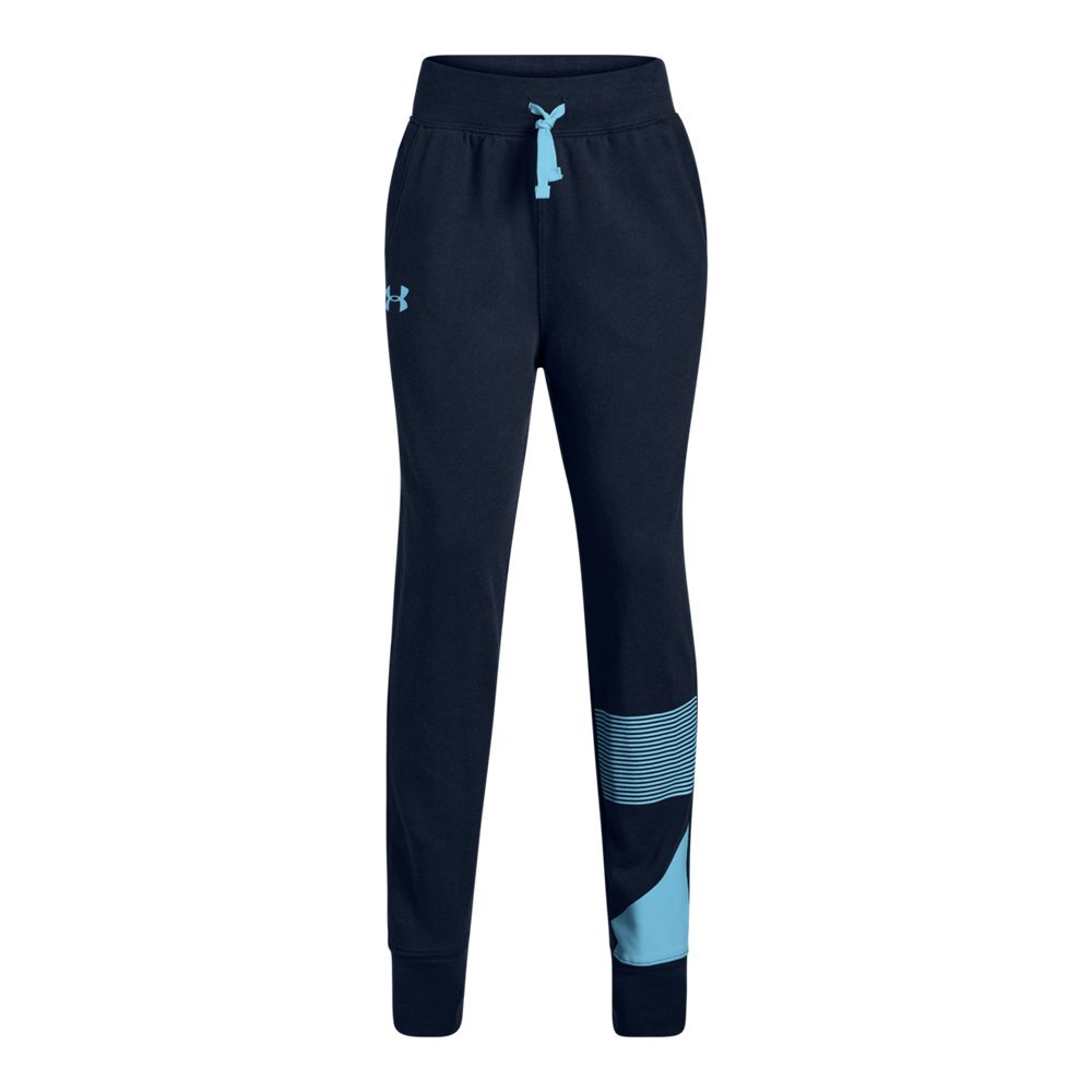 Under Armour Girls Rival Jogger, Academy (409)/Venetian Blue, Youth Medium by Under Armour