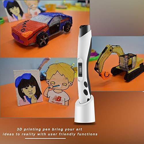HoganeyVan Impresora 3D inteligente Pen SL-300 OLED Display para ...