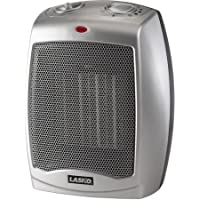 Lasko 754200 Ceramic Heater with Adjustable Thermostat 3-Pack