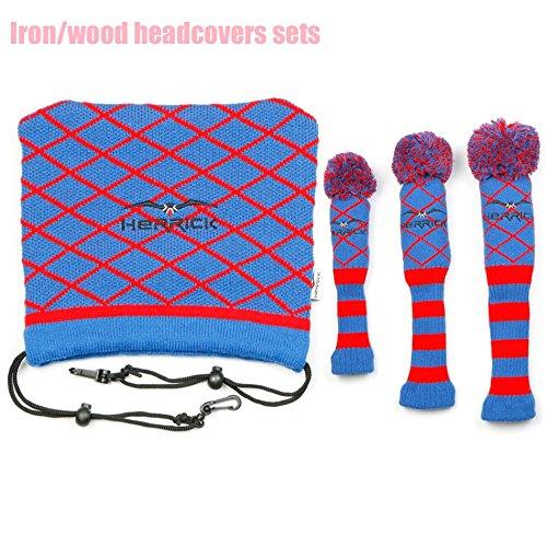 Nueva palos de golf fairway madera lana para tejer cubre 1 ...
