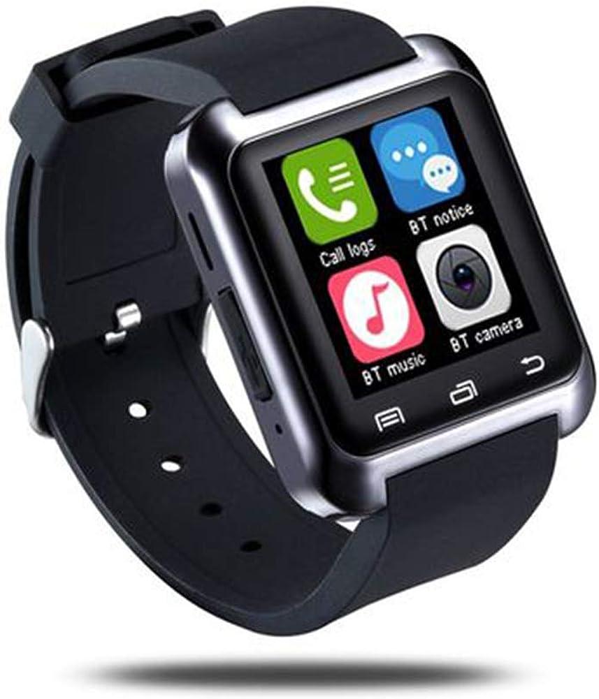 Milnnare Reloj Inteligente,Bluetooth Recordatorio de Mensaje de Llamada Altimeter Sports Smart Watch para Android iOS