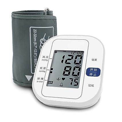 Tensiómetros Blood Pressure Monitor TensióMetro ElectróNico De PresióN Del Hogar De PresióN AutomáTica Del Brazo Superior