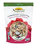 New England Naturals Organic Gluten Free Unsweetened Granola Berry Coconut -- 12 oz