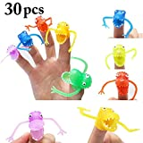 Fansport 30PCS Halloween Finger Toy Mini Dinosaur Party Toy Party Favors Novelty Toys for Story Prop