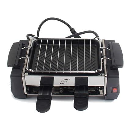 ZTXY Hogar SmokeLess Horno eléctrico Mini Parrilla Interior ...