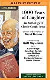 img - for 1,000 Years of Laughter: An Anthology of Classic Comic Prose book / textbook / text book