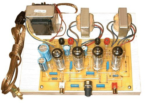 Tube Amplifier Kits - Stereo Integrated Tube Amplifier DIY Kit