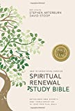 NIV, Spiritual Renewal Study Bible, Hardcover: Experience New Growth and Transformation in Your Spiritual Walk