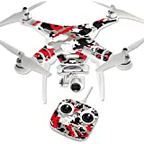 MightySkins Protective Vinyl Skin Decal for DJI Phantom 3 Standard Quadcopter Drone wrap cover sticker skins Red Camo