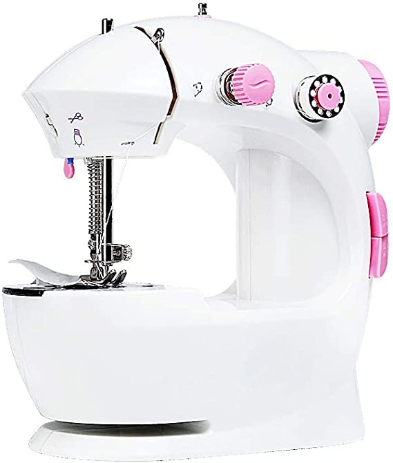 XF Mini máquina de Coser for el hogar Máquina de Mano for Coser ...