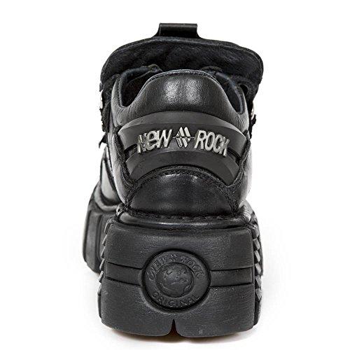 – 120 Rock Adulto s1 New Unisex Sneaker Nero M negro 001 A7qp6Y