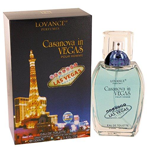 Lovance Perfumes Casanova In Vegas Eau de Toilette Spray for Men, 3.4 - In Outlets Las Vegas The