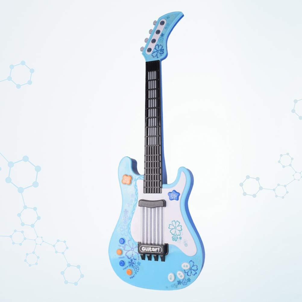 STOBOK Guitarra Eléctrica para Niños Juguete de Instrumento ...