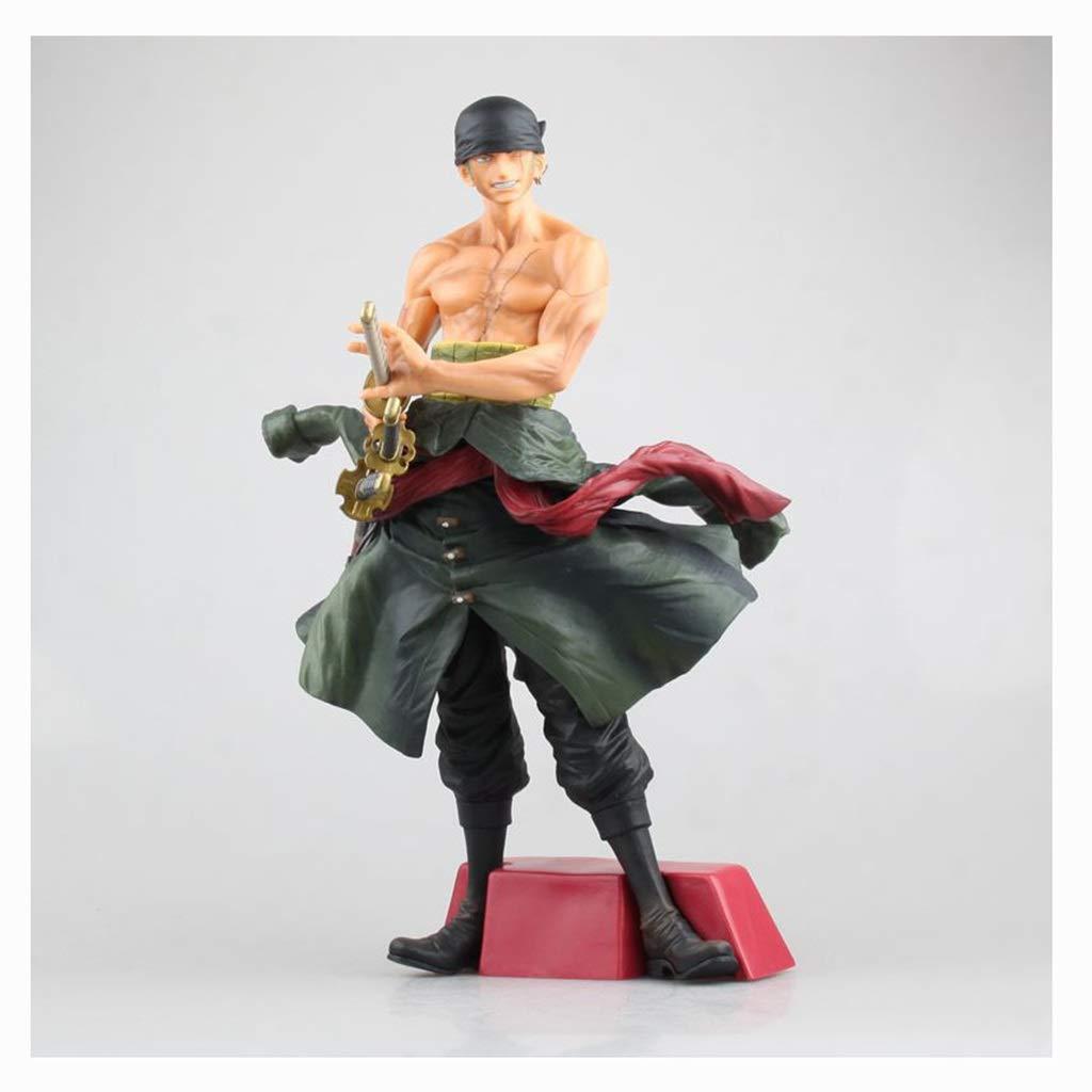 DYHOZZ Ein Stück Spielzeug Statue SGoldn Swordsman Exquisite Anime Dekoration Collectibles Kunsthandwerk-28 cm Spielzeugstatue