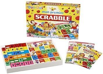 Mattel – Juego de Tablero Oui Oui – Mon Premier Scrabble: Amazon.es: Juguetes y juegos
