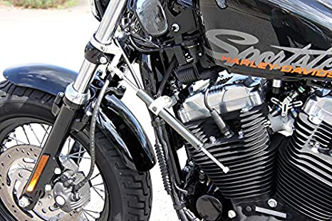Lsl Lenkungsdämpfer Kit Harley Davidson Sportster 04 Titan 883 C Sportster Custom Auto