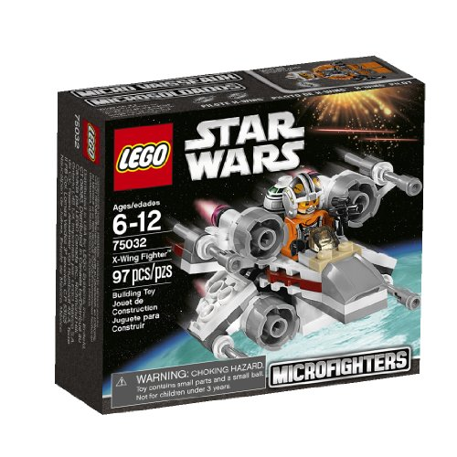 Lego, Star Wars Microfighters Series 1 X-Wing Fighter (75032) (Wars Micro Lego Star Sets)