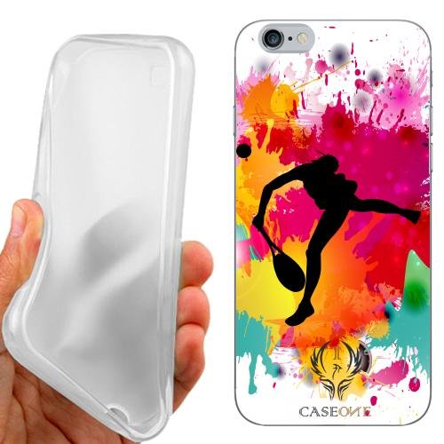 CUSTODIA COVER CASE TENNIS FEMMINILE PER IPHONE 6S