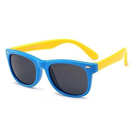 Umiwe Gafas de sol polarizadas para niños (unisex, protección UV) Sapphire-blue