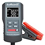 Calculated Industries 8715 AccuMaster BT Digital Battery Load Tester Analyzes 12V 100-2000 CCA Batteries | Voltage, Capacity% Life, Resistance, Cranking Amps | Amp Hours (AH)