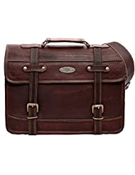 Handmade_World Leather Messenger Bags For Men Women 15 Mens Rustic Briefcase Laptop Computer Shoulder Satchel...